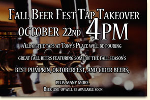 Fall Beer Fest Tap Takeover
