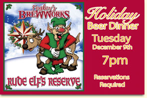 Holiday Beer Dinner  - Fegleys Brewworks