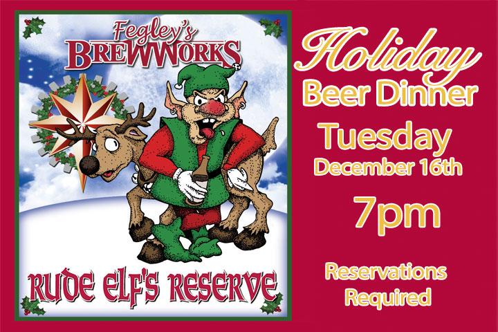 Holiday Beer Dinner  - Fegleys Brewworks