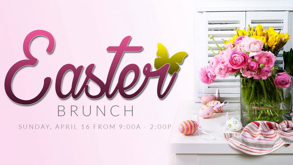 Easter Brunch at Tony's Place