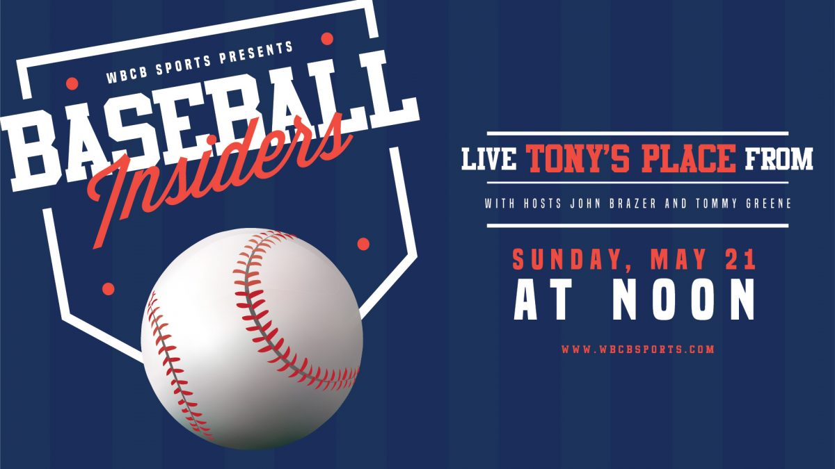 Watch the Baseball Insiders show at Tony's Place