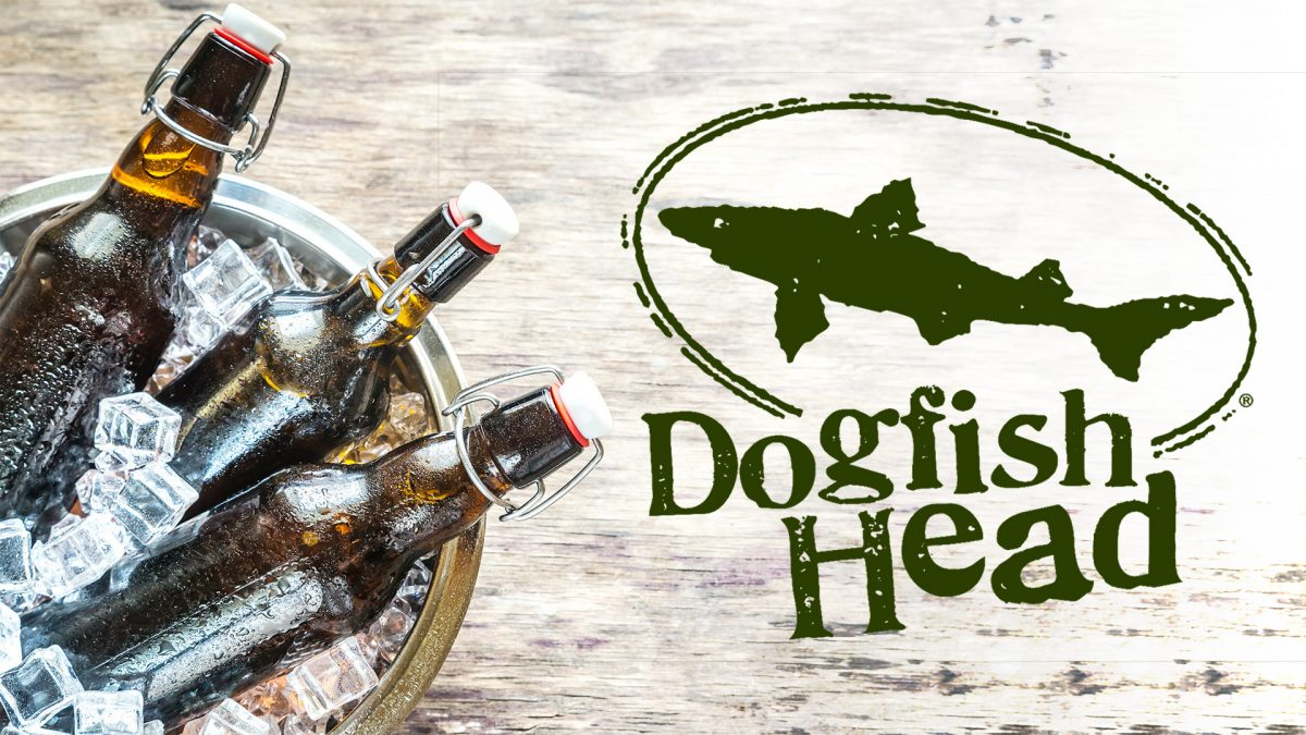 Dogfish Head beer dinner at Tonys Place